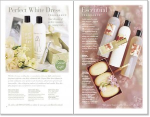 Body products catalog