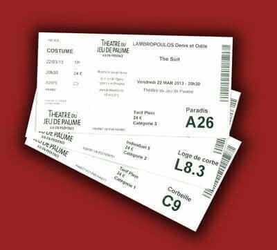 theatre tickets400